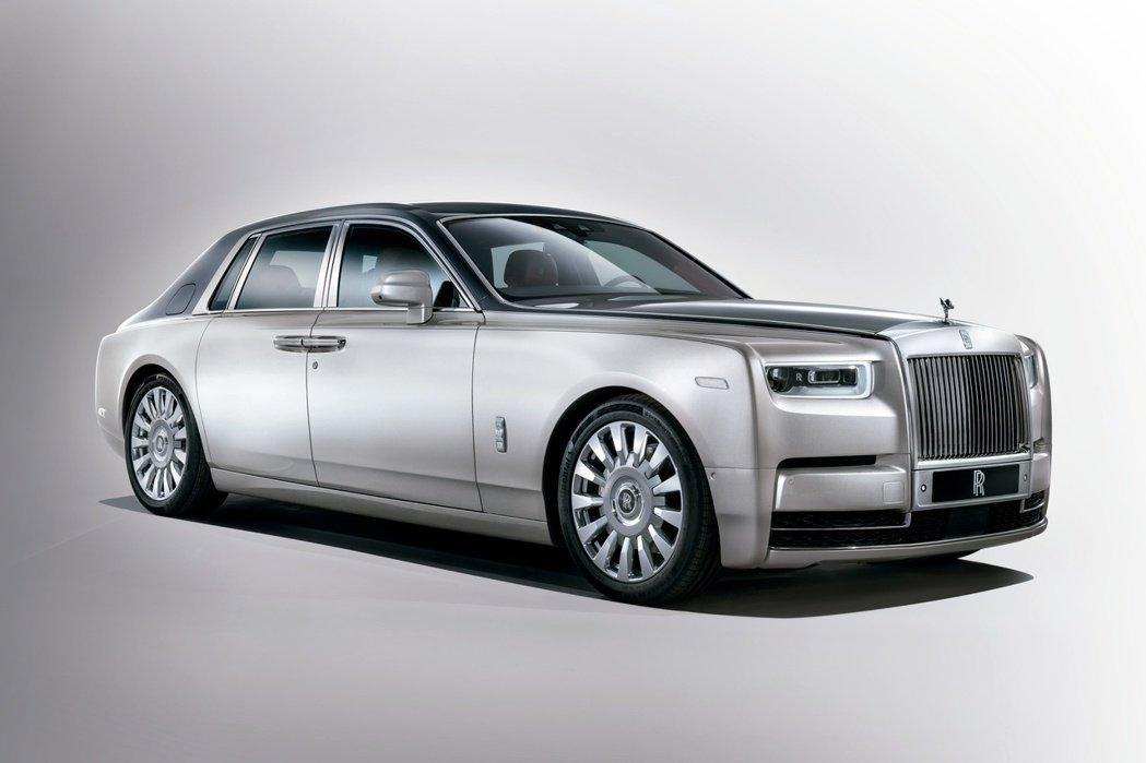 第八代Rolls-Royce Phantom。圖/Rolls-Royce提供
