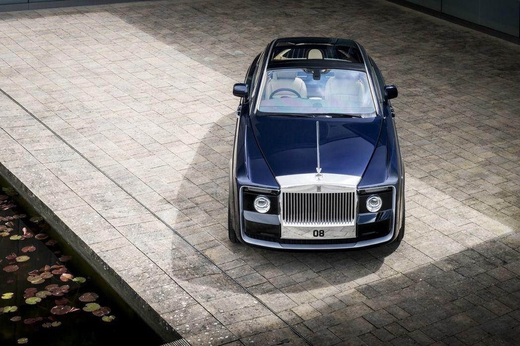 Rolls-Royce Sweptail。圖/Rolls-Royce提供