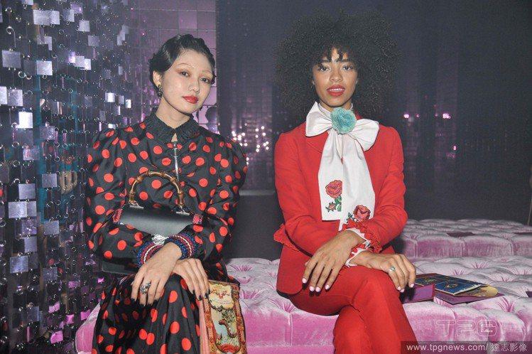 二階堂富美去年受邀前往米蘭觀賞Gucci大秀。圖/達志影像