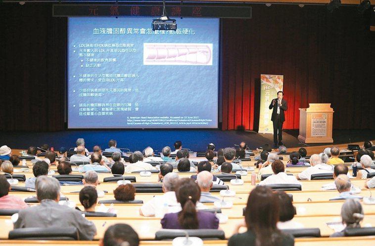 台灣高血壓學會理事長暨台大醫院內科部心臟內科教授王宗道說,膽固醇有部分與基因、遺...