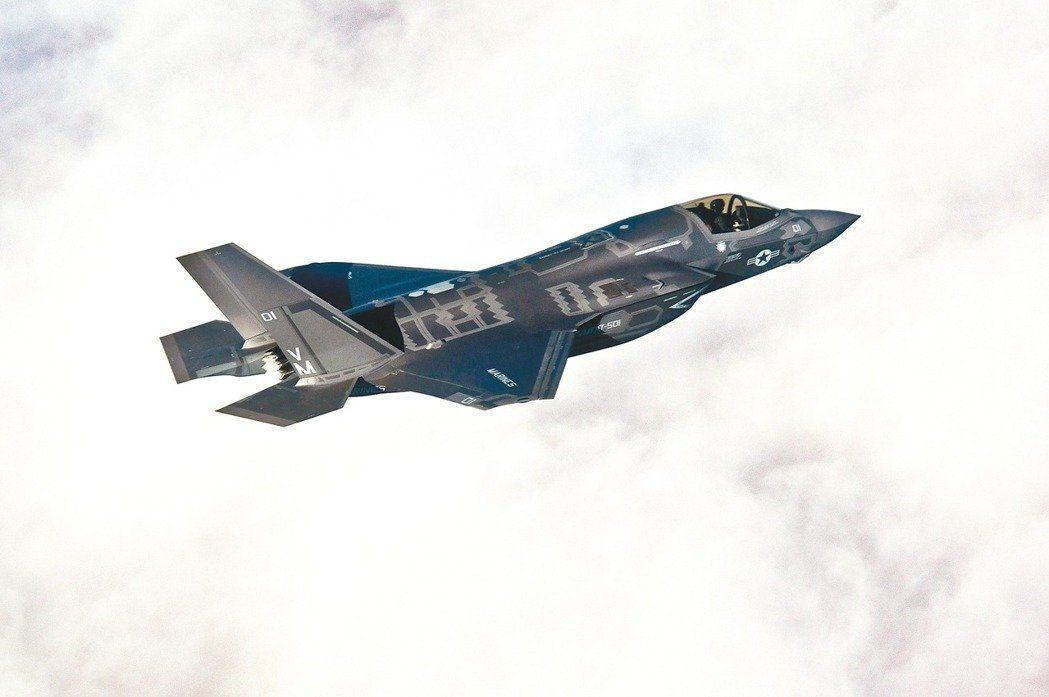 美國總統川普曾抱怨洛克希德馬丁公司的F-35戰機太貴了。 (路透)