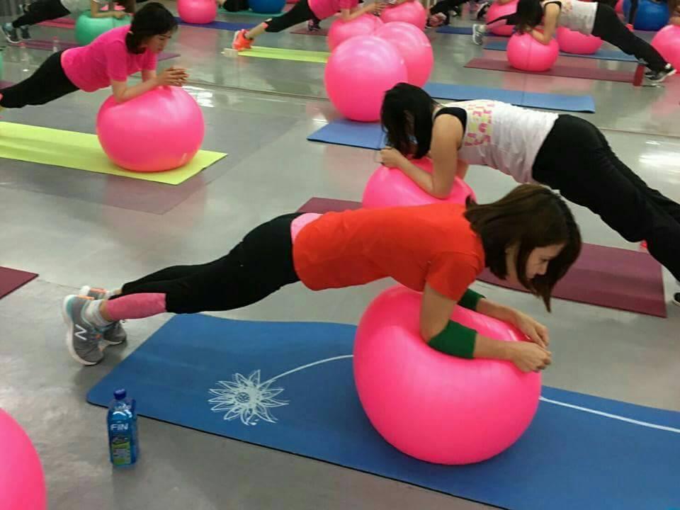 德馨這幾年熱衷於健身運動。圖/民視提供