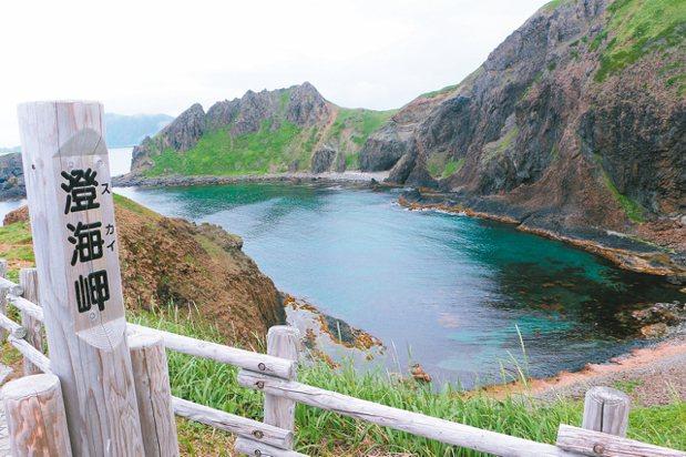 澄海海角水質清透。 記者沈佩臻/攝影