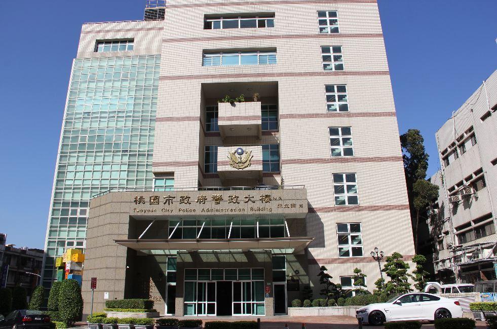 劉邦友血案凶宅,已改建成桃園市警局警政大樓。 本報資料照片