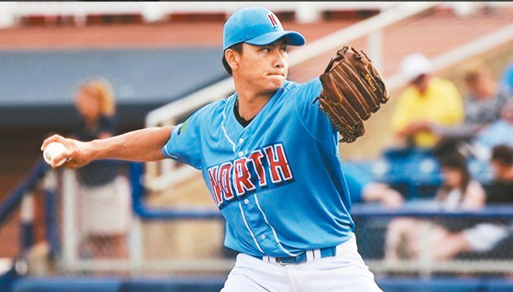 旅美印地安人隊小聯盟2A投手江少慶。 取自MiLB推特