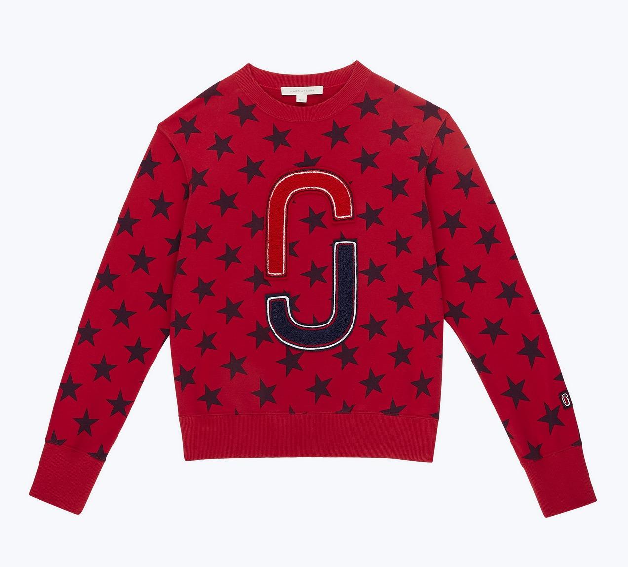紅色星星毛衣,1萬3900元。