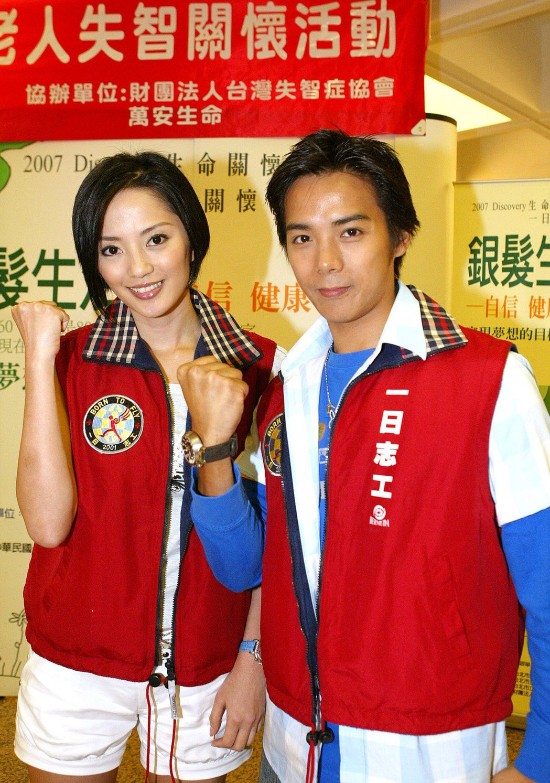 陳子強(右)與傅天穎(左)離婚後,為兒子問題起爭執。 圖/聯合報系資料照