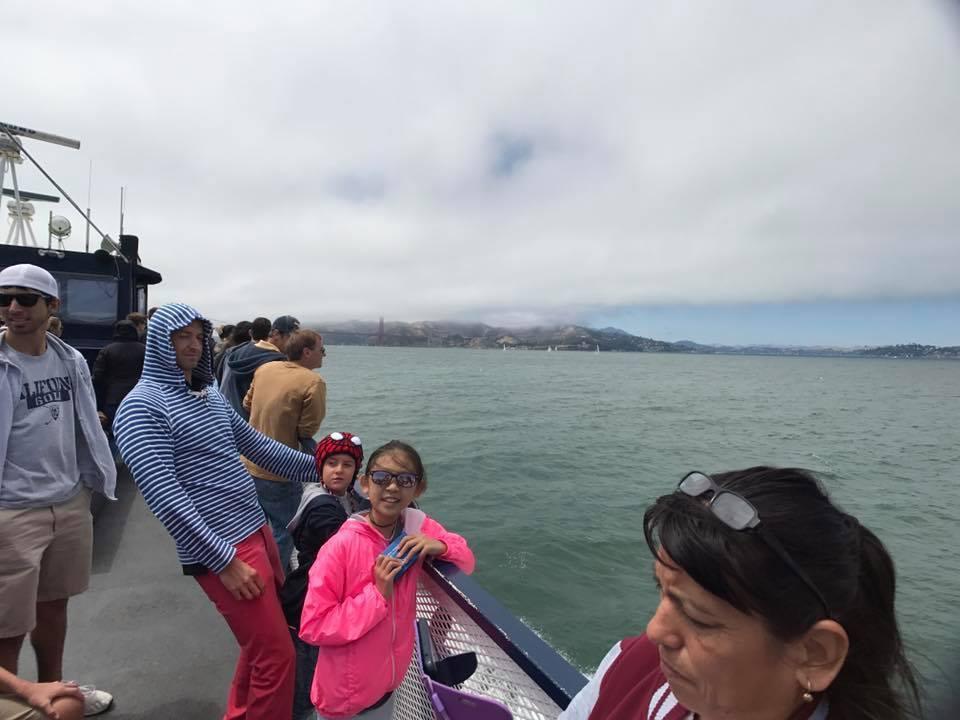 小禎帶著女兒到美國度假。 圖/擷自小禎臉書