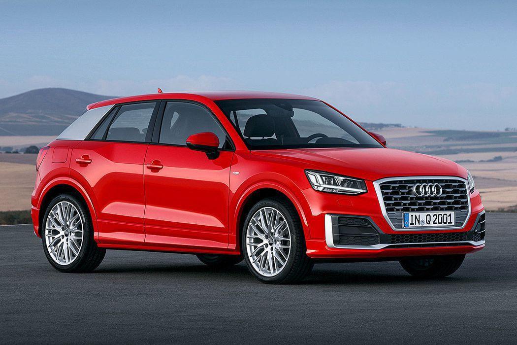 Audi Q2。圖/Audi提供