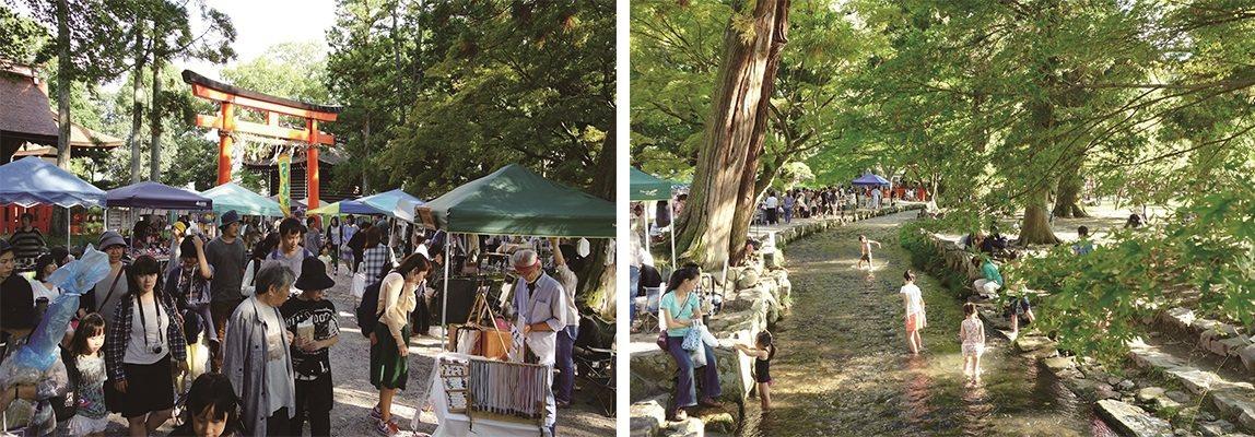 每個月第四個週日,早上9時~下午4時(雨天照常舉行)京都市北區上賀茂神社,約25...