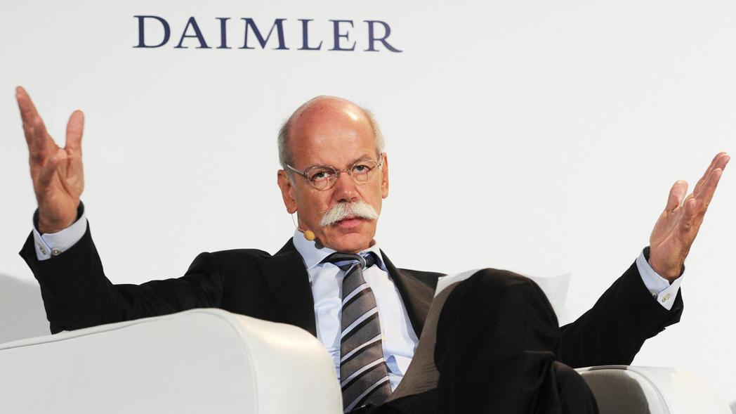 Daimler集團的CEO Dieter Zetsche,認為在推動減少CO2的...