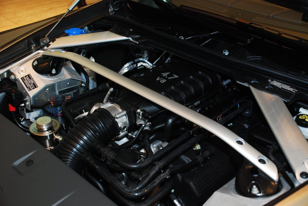 4.7升 V8自然進氣引擎。記者林昱丞/攝影