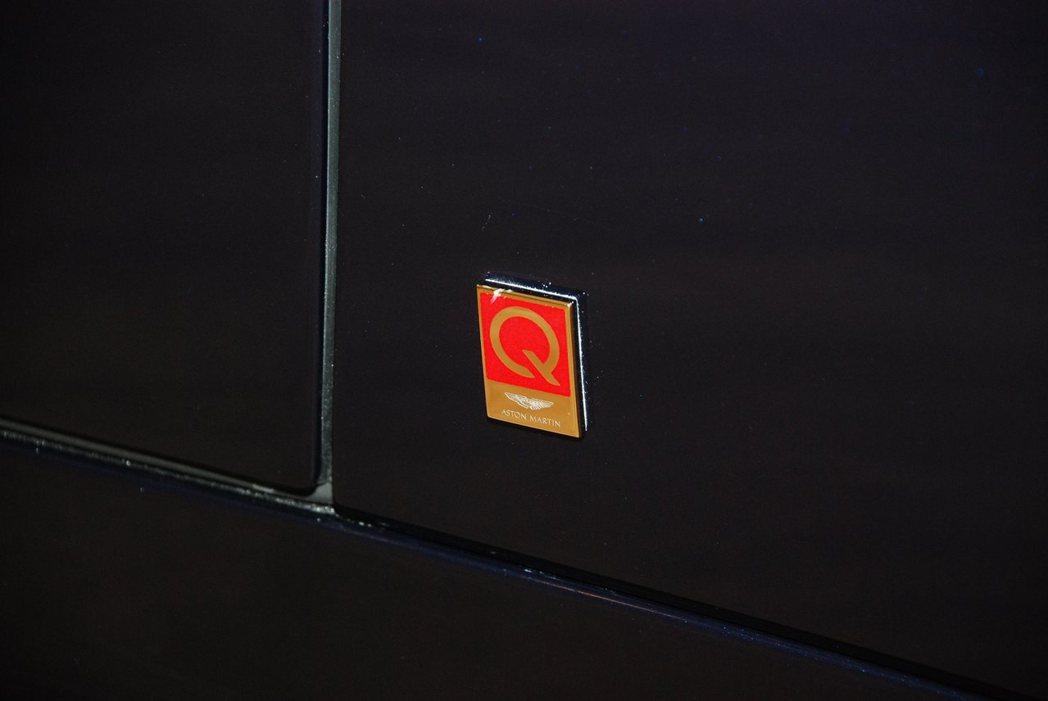 客製化部門Q by Aston Martin。記者林昱丞/攝影