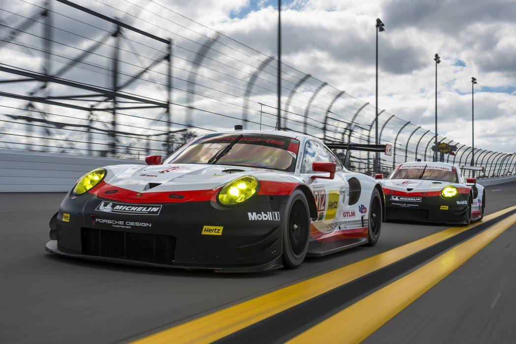 Porsche 911 RSR。圖/Porsche提供