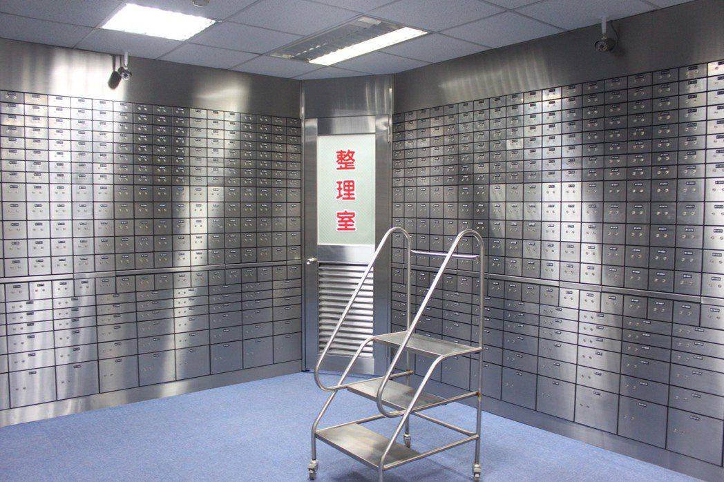 銀行公會疑似洗錢交易態樣範本,將「保管箱業務」也納入強化查核。 圖/本報資料照