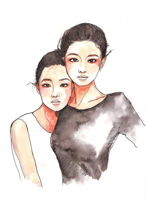 徐熙媛、徐熙娣。圖/style master提供