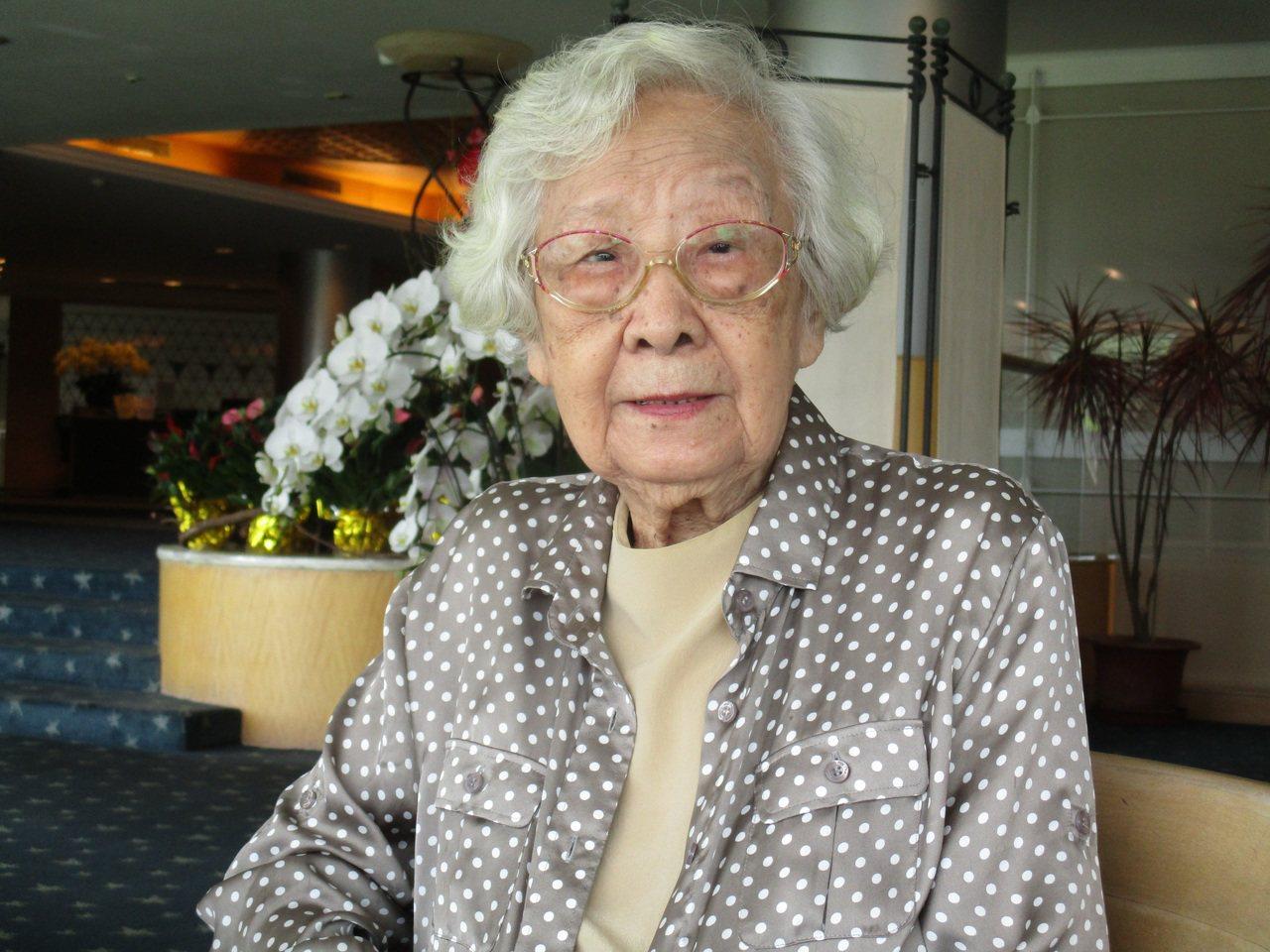 齊邦媛出版5年養生村日記,娓娓道出她這一代的「新養老觀」,記者陳宛茜/攝影