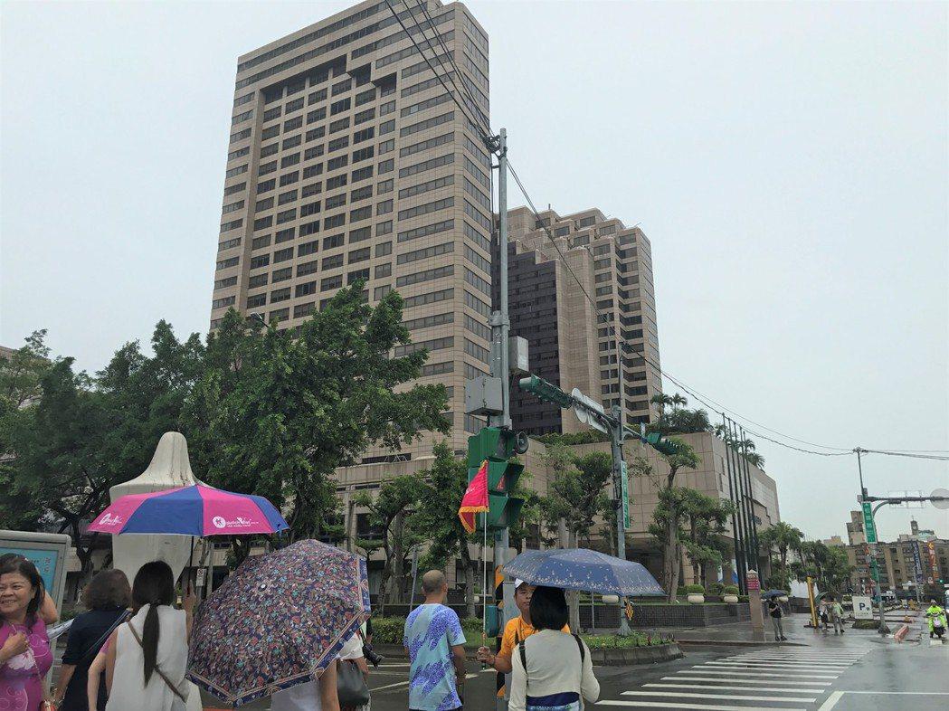 國內觀光旅館客源大減。記者游智文/攝影
