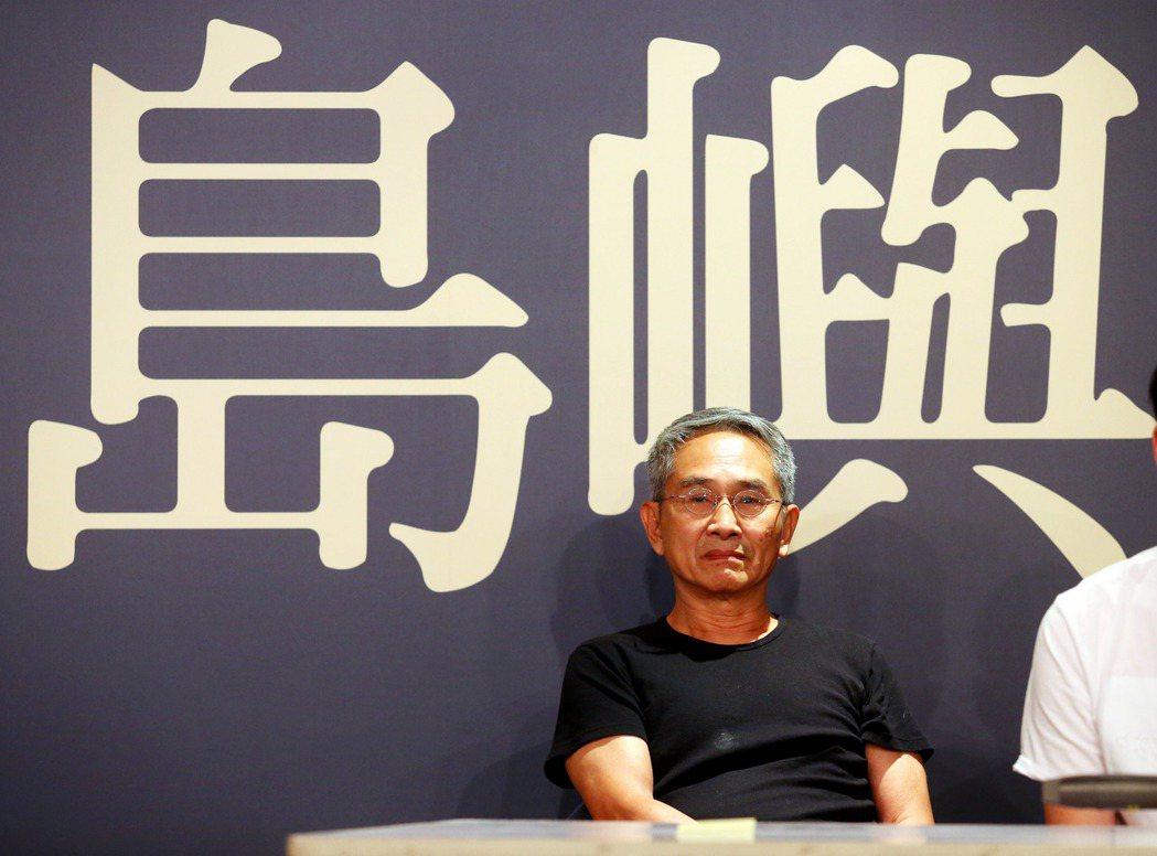 雲門舞集創辦人林懷民下午舉行記者會宣傳新作「關於島嶼」,此作品從台灣的印象與氛圍...