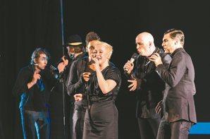 德國SLIXS暌違五年再度抵台,獨創阿卡貝拉音樂劇。 圖/聯合數位文創提供