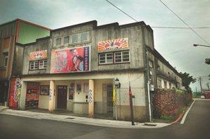 由地方士紳募資興建的利澤戲院,在台語時代曾昌盛一時。 攝影/曾國祥