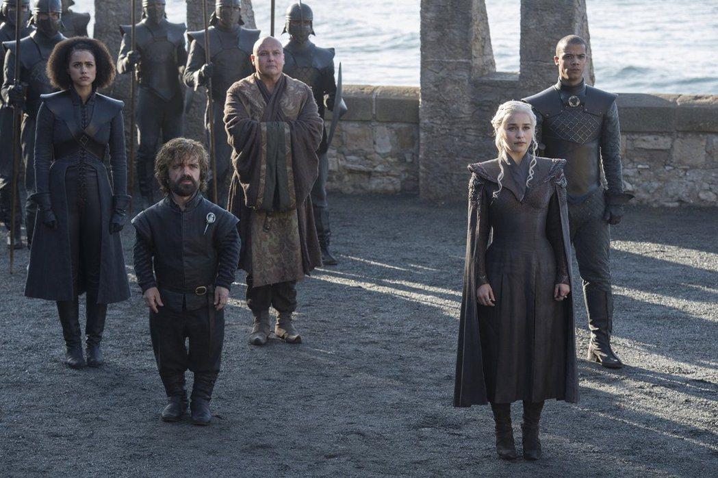 「冰與火之歌:權力遊戲」收視一季比一季高,愈到尾聲愈威猛。圖/HBO提供
