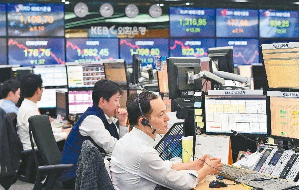 亞洲股市今年來漲勢凌人,包括韓國、印度、澳洲、日本、上海綜合,表現優於歐、美股市...