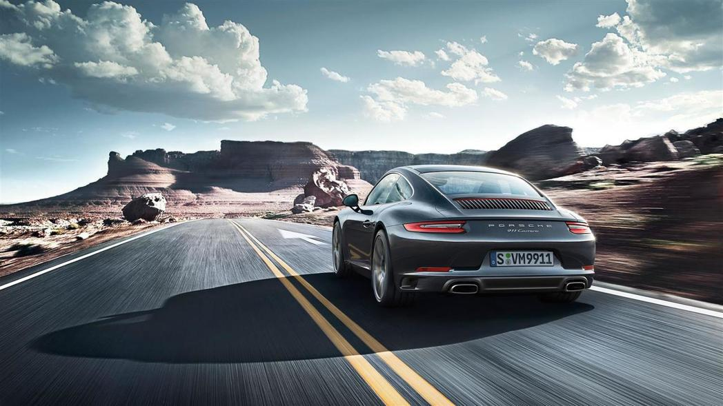 Porshce再度蟬聯美國最受歡迎的汽車品牌。圖為Porsche 911 Carrera。 摘自Porsche