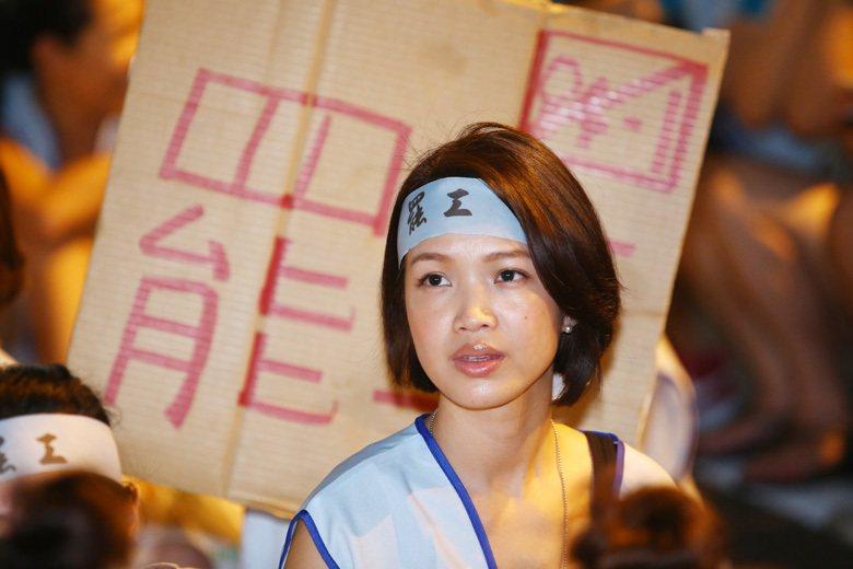 圖為2016年華航空服員發起罷工活動現場。 圖/聯合報系資料照