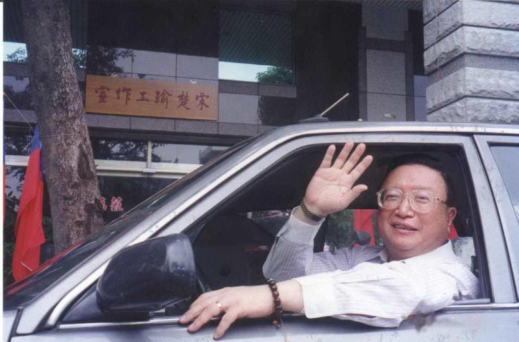 前省政風處長王廣生樂當宋楚瑜志工。 圖/報系資料照