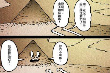 【黃色笑話】「山不轉路轉」