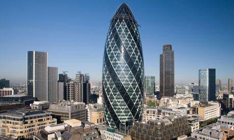 建築師蕭特沃斯設計的「小黃瓜」成為倫敦地標,但他現在認為,不該再蓋玻璃帷幕大樓。...