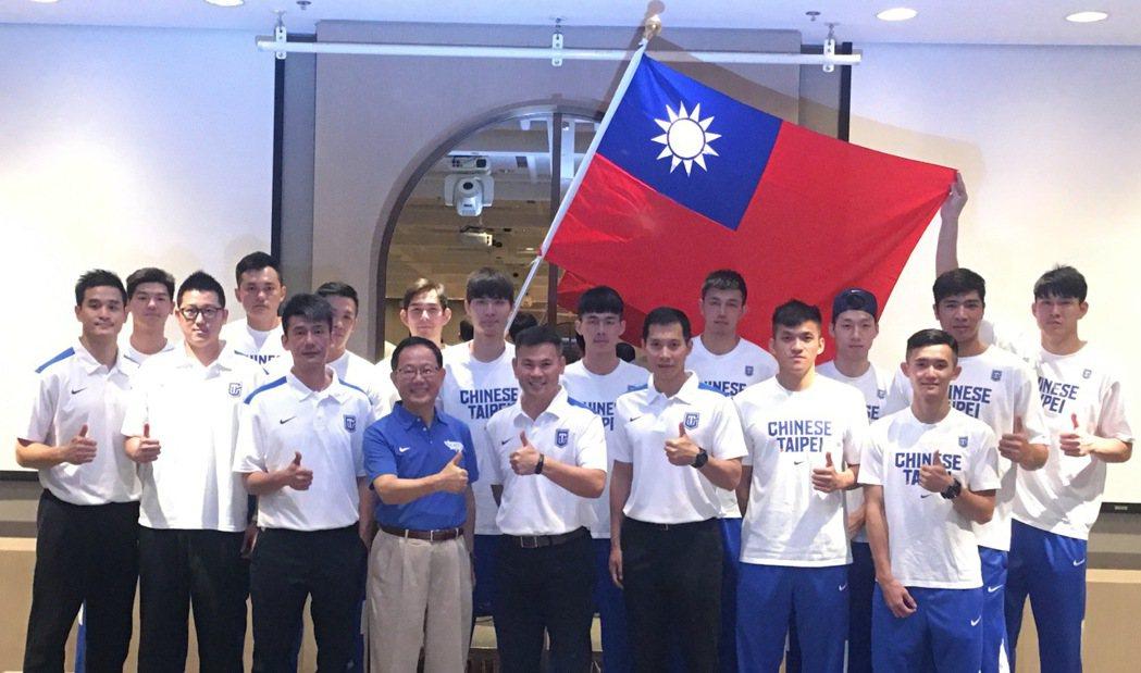 中華隊出征亞洲盃男籃賽。 聯合報系資料照 記者曾思儒/攝影