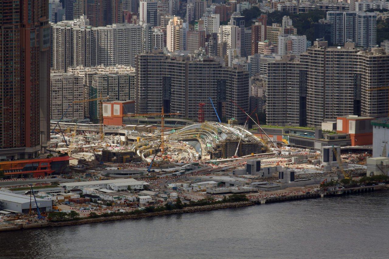 西九龍站是在香港領域設立的內地口岸,將實施「整套內地法律」。 翻攝自維基百科