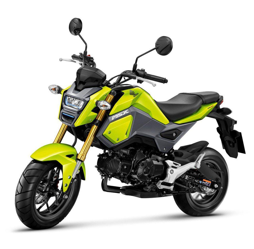 2018 Honda MSX125 ABS。圖/Honda Taiwan提供