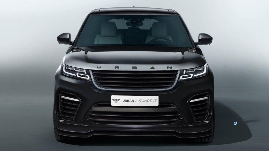 Urban Automotive改裝的Range Rover Velar。圖/摘...