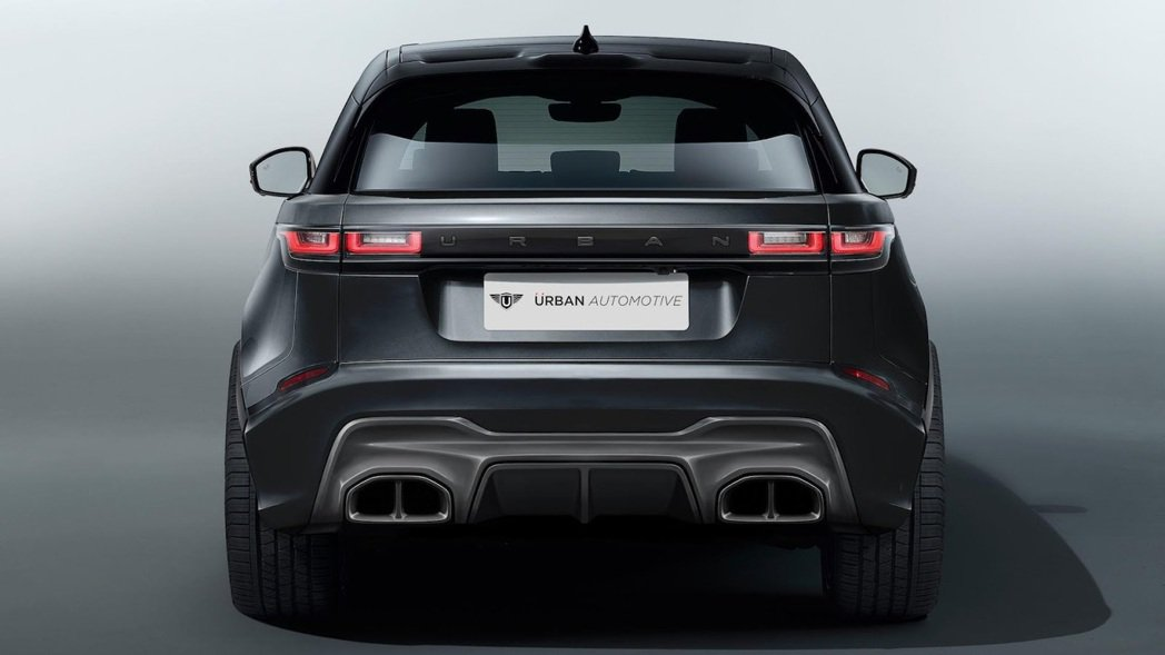 Urban Automotive改裝的Range Rover Velar。圖/摘自Urban Automotive