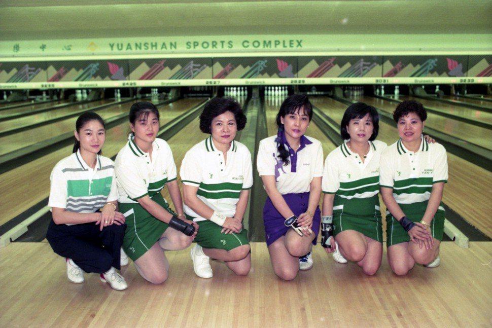 中華保齡球代表隊 圖片來源/聯合報系資料庫