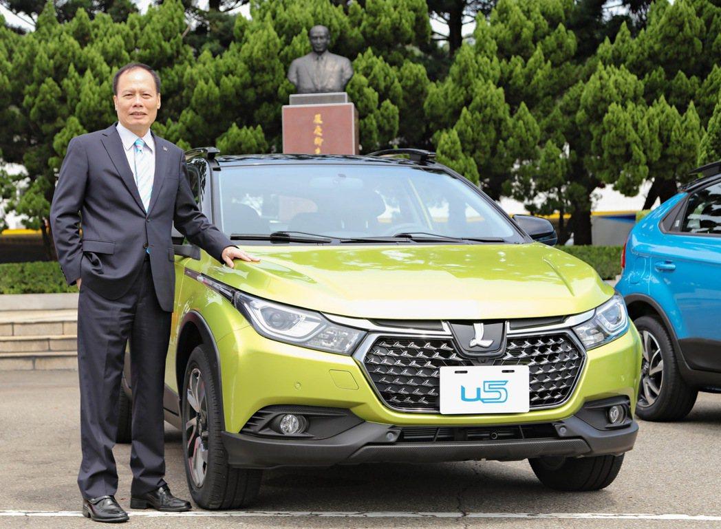 LUXGEN總經理蔡文榮連任車輛公會第25屆理事長。 圖/納智捷提供