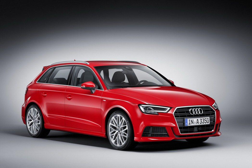 全新Audi A3車系改款精進車型正式上市。 圖/台灣奧迪提供