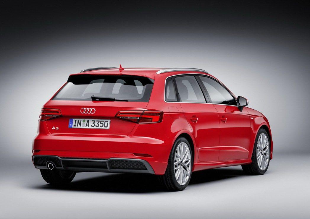 全新Audi A3車系承繼四環品牌精悍洗鍊的新世代家族設計語彙。 圖/台灣奧迪提供