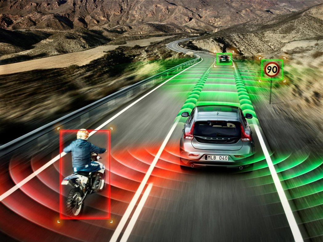 安全性配備都只是「輔助」的功能,並不能確保行車有絕對的安全。 摘自Volvo