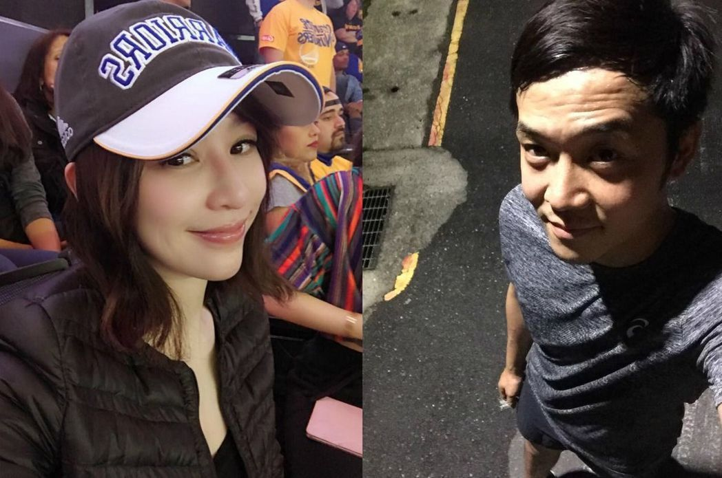 王心凌(左)與姚元浩交往時的私密照引發各界關注。圖/擷自王心凌、姚元浩臉書