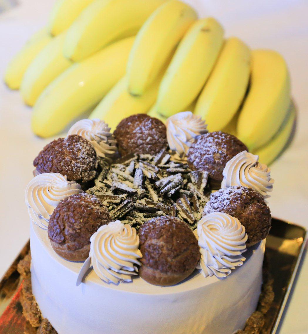 芭娜娜蛋糕。 攝影/張世雅