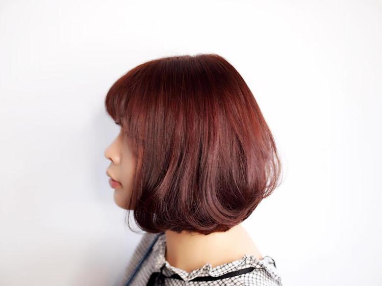 髮型創作/基隆楓瓦髮型 - Mini。圖/HairMap美髮地圖提供