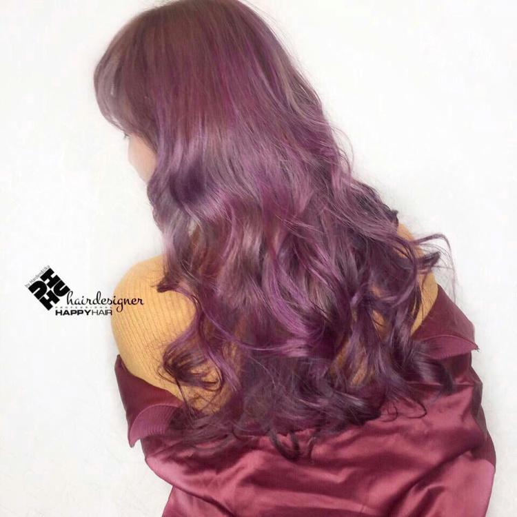 髮型創作/Happy Hair 嘉義店 - 蔡虎牙。圖/HairMap美髮地圖提...