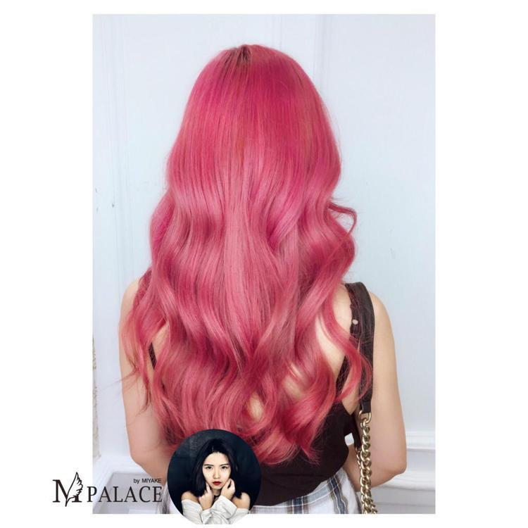 髮型創作/M-Palace 光復店 - 蔓蔓。圖/HairMap美髮地圖提供