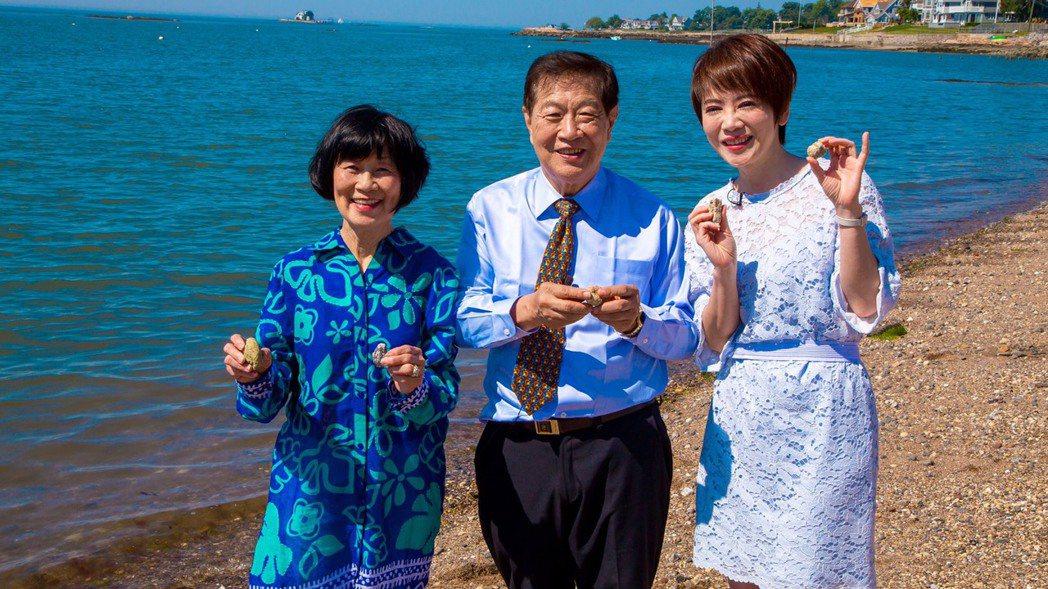 陳雅琳(右)曾拜訪李昌鈺夫妻。圖/壹電視提供