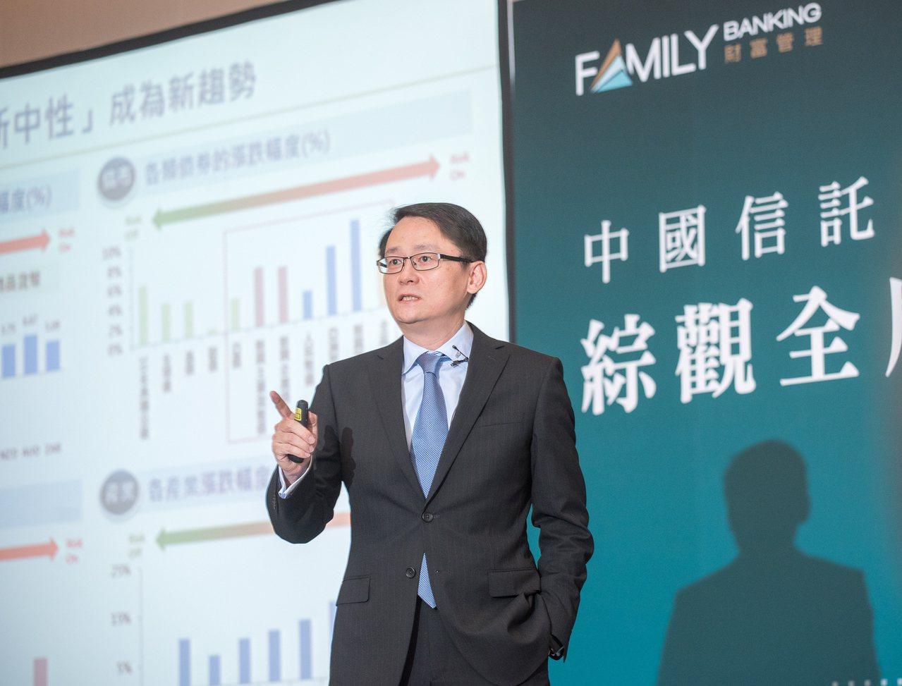 中國信託銀行財富管理產品處副總經理黃培直建議,投資股市可優先選擇日本、歐洲、中港...