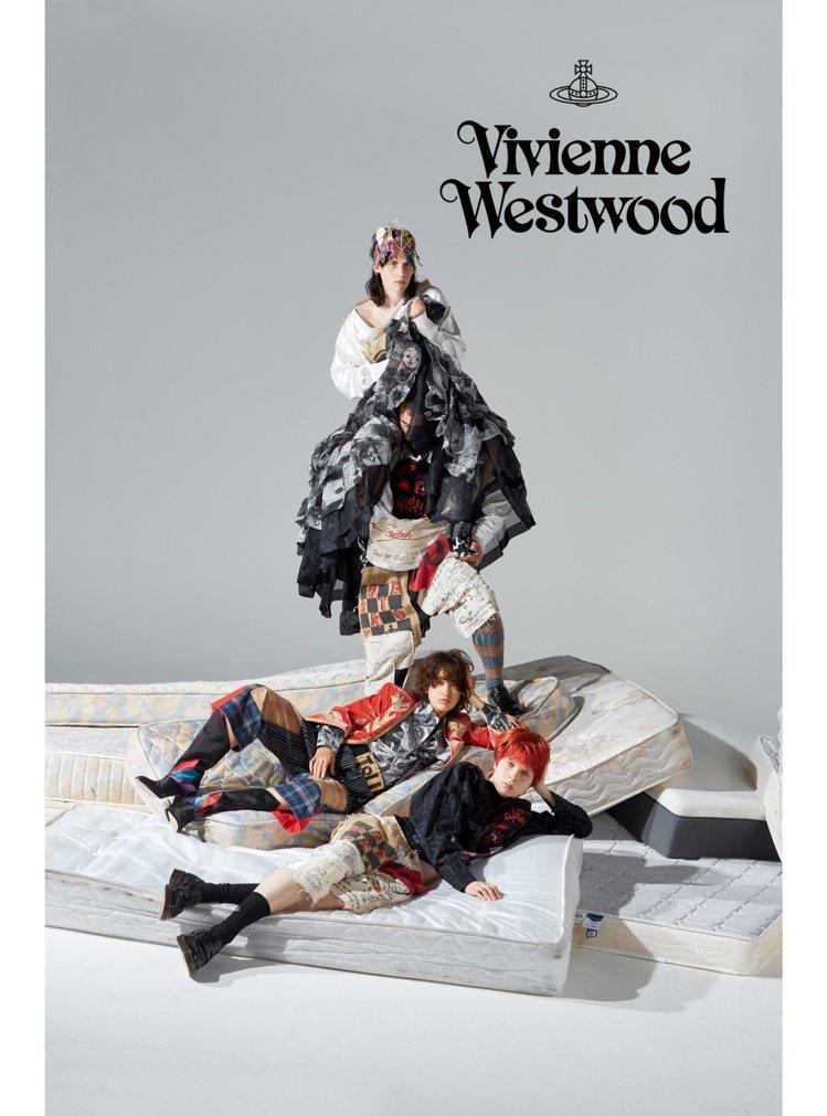 Vivienne Westwood推出秋冬廣告,利用有趣的畫面傳達環保理念。圖/...